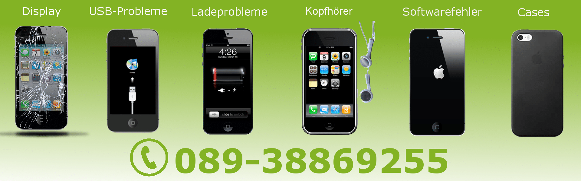 Reparatur express handy iphone samsung reparieren lassen